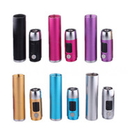 Wholesale New Mod Smok Original SID tube ego kit LCD Display Variable Voltage Mod adapter CE4 CE5 GS H2 atomizer E cigarettes Huge MOds DHL Free