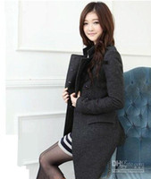 Coats Women Wool Blend Free Shipping !Woman Double-breasted Coat,Fashion Wind Coat Clothes Women