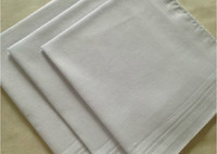 Wholesale New cotton male handkerchief cotton male satin handkerchief towboats squareinto handkerchief whitest cm