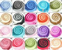 Wholesale ladies double colors Pashmina Shawls gradient color imitation cashmere wool scarf mixed color