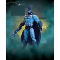 Wholesale Anime toy cm DC Direct Arkham City Series2 Batman Detective Mode PVC Figure Toy Boxed KG