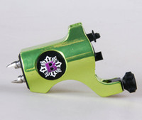custom tattoo machines - Bishop tattoo machine Rotary Tattoo Machine Clip Cord Tattoo Machine Custom green hot sale