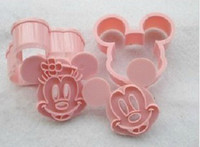Wholesale DIY minnie mouse cookie cutter Cupcake Mold Baking Mould Bakeware