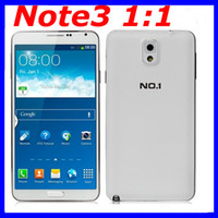 """5.7 Android 1G NO.1 N3 Note 3 N9000 n9006 MTK6589T Quad Core 1.5GHz Android 4.2 Smart Phone 1GB RAM 8GB ROM 5.7"""" IPS 1280*720 Camera 13.0MP free shipping"""