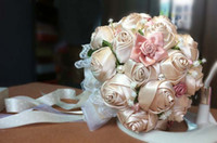 Wholesale New Arrival Royal Favors Beads Wedding Bouquet Crystal Floral Bride Holding Flowers Wedding Favors