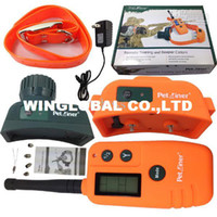 Wholesale For dog collar PET TRAINER Hunter Beeper Dog Training Collar Rechargeable waterproof m Receiver Beeper PC