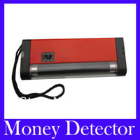 AD-998 Guangdong, China (Mainland)  Free Shipping Currency Detector--2 in 1 Handheld UV Light Torch Lamp Money Detector .5pcs lot