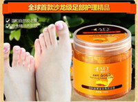 Wholesale AFY K Gold Foot Scrub Massage Cream Shea Butter Nourishment Foot Cream Moisturizing Foot Nursing Feet Cream Skin Repairing Tendering Feet