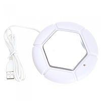 Wholesale Portable USB Powered Cup Mug Warmer Coffee Tea Drink Heater Tray Pad white