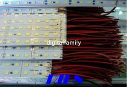 50X 5630 LED Strip Hard Pixels Cool White Warm White Bar Rigid 72 LEDs Strip Light Strip With
