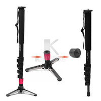 Wholesale FEDEX Professional Aluminum Alloy Portable kg Monopod Light Weight Unipod With Base For DSLR Camera Camcorder
