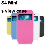 1: 1 S View Automatical Sleep Wake Flip Leather Cover Case Sc...