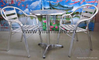 Wholesale outdoor furniture aluminum chairs rattan chairs garden furniture