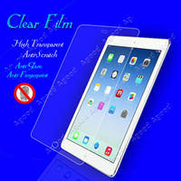 23.5*17.5*0.1cm For Apple For Ipad 5pcs lot New Clear Screen Protector or Protective Film For Apple iPad Retina Air 5