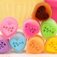Eraser Black,Dark Grey,Light Grey,Plum,Purple,L  Free shipping Ann korea stationery small fresh sweet candy color jelly fruit style taste eraser