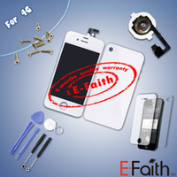front glass iphone 4 - For iphone G Full Complete LCD Screen Front Display Digitizer Glass Screen Assembly white Free ship