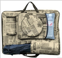 bags graphics - 4K newspaper sketchpad bag graphics drawing tablet bag art set school supplies art supplies Picture bag