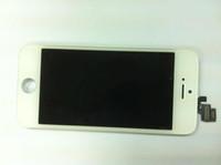 Белый Черный ЖК-экран для iPhone 5 5G 5-й полноэкранный ЖК-дисплей Сенсорный экран Digitizer Полная сборка запасных частей Dealtime
