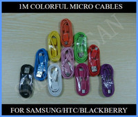 Wholesale New Style Universal Data Cable M Micro USB Sync Charger Line For Cell Phone Samsung Galaxy Note III Sony Nokia LG Colorful Cheap Factory