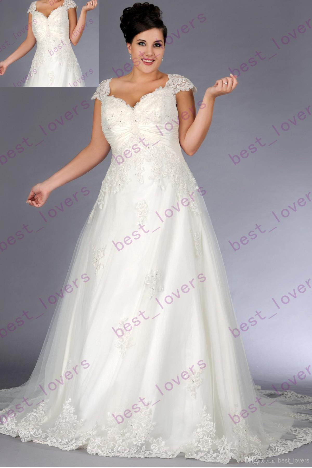 designer plus size wedding dresses uk 60