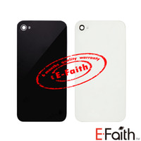 Wholesale 200pcs For iPhone GSM or CDMA s Glass Back Cover Frame Replacement amp Tools amp Freeshipping white and black