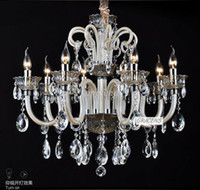 Wholesale Arms Luxury Crystal Chandelier Modern Light with Year Waranty Ordered by Hilton Hotel A CCLDGLP1158 L8