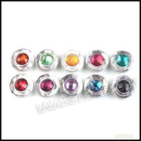 Wholesale 240pcs Mixed Colors Flatback Rhinestone Resin Button Beads For Sew on Garment
