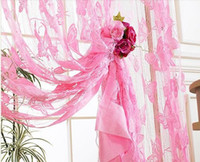 Wholesale E Home Whole Sale Fringe Curtain Size cm Butterfly Design Gift For Christmas Holiday WHB B32