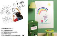 Wholesale cm vinyl whiteboard sticker dry erase wall decal free marker