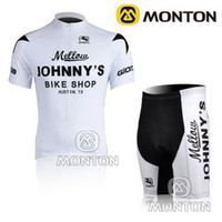 Wholesale 2013 Cycling Wear Novelty cycling Kit Johnnys Team White and black cycling Jersey Short Jersey Set Florida Gator Cycling Jersey C00S1