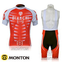 Wholesale 2014 new style red cycling jerseys bib shorts BIANCHI team cycling Jersey and Bib Pants cycling world champion jersey C00S