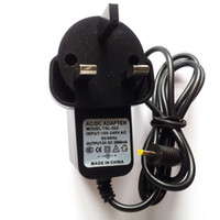 Wholesale MOQ1pcs china post airmail with tracking number v a mm UK plug power adapter universal tablet pc battery charger