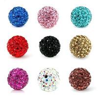 Circle ab money - Lose Money Sale Shamballa Beads mm AB Clay Crystal DIY Shamballa Disco Ball Beads Mix Color