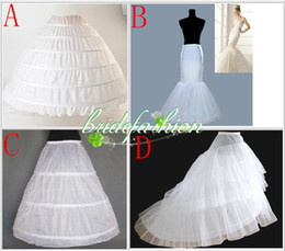 Wholesale hot sale Style Petticoate mermaid a line ball gown wedding Bridal Accessories