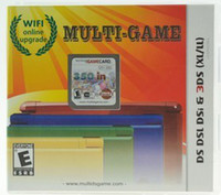 Wholesale Ds multi games For ds v in1 GB cheap video multi games Card with different games in one fiche for DS DS DSI XL DS ALL Poke
