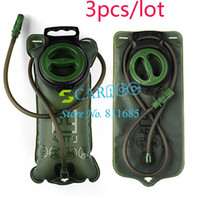 Wholesale 3pcs L TPU Bicycle Mouth Water Bag Bladder Camping Hiking Climbing Military Green