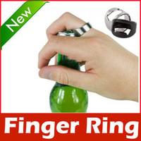 Wholesale Stainless Steel Finger Ring Bottle Opener Beer Bar Tool