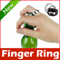 Wholesale Stainless Steel Finger Ring Bottle Opener Beer Bar Tool