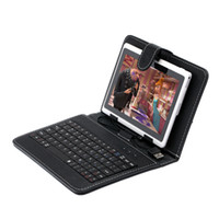 Wholesale US Stock Q88 quot Android Tablet PC Allwinner A13 GB GHZ Capacitive Screen WIFI G Tablet Bundle Keyboard