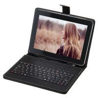 Stocks américains! 9 pouces tablette PC Android 4.2 ALLwinner A20 Dual Core double caméra 1.2GHZ 512MB 8GB tablette Bundle Keyboard Case