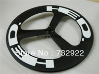 Wholesale NEW spokes carbon wheels HED wheels tri spoke carbon wheelset C Carbon road bike wheel Clincher