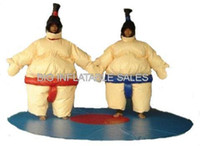 Wholesale Large Inflatable Costumes for SUMO Inflatable Judo WRESTLER Suits bouncehouse