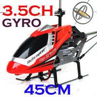 Electric 2 Channel 1:4 Free Shipping !Remote Control toys Big Double horse 45cm 3ch RC Helicopter Metal Frame RTF radio control High Speed Helicopters