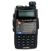 Wholesale Portable CB Radio Walkie Talkie UV RO VHF UHF MHz MHz VOX Dual Band Standbys DTMF Two Way Radio A0850O