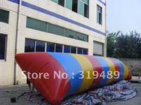 Wholesale 33 x10x10ft Inflatable water blob CE UL air pump Repair kit