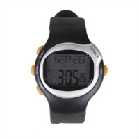 Wholesale Digital Monitor Calories Counter Fitness Pulse Heart Rate Watch Clock Stopwatch