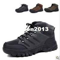 Men Summer Rubber 2013 hiking shoes waterproof walking sneakers outdoor mens boots free