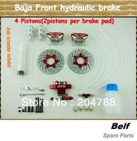 Wholesale 2013 Baja New Type II Pistons Front Hydraulic Brake for hpi kingmotor rovan Baja b t