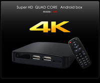 Wholesale Measy B4K Ultra HD Quad Core Android Mini TV Box Player All winner A31 Cortex A7 GHz G G BT MP Camera MIC Best price