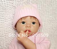 Unisex Birth-12 months Vinyl 22 inch Lifelike Reborn baby dolls Silicone vinyl doll Soft Toys for girls 100% handmade soft dolls girls gift
